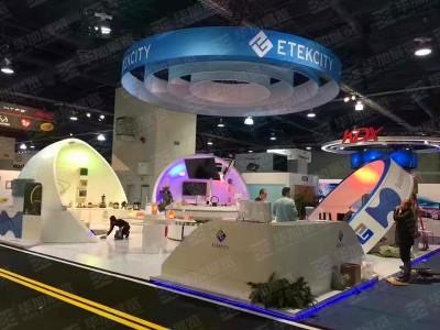 ETEKCITY foreign exhibition design structures